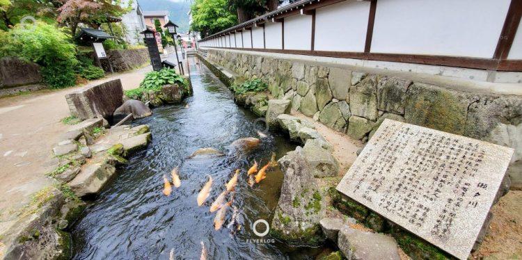 飛驒古川半日遊 - 瀨戶川和白壁土藏街