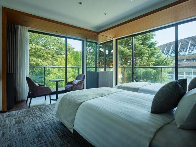 三井花園酒店神宮外苑東京普米爾 頂級雙床房