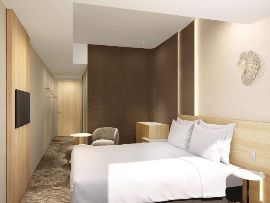 東京豐洲日航都市酒店 雙人房