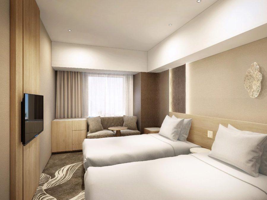 東京豐洲日航都市酒店 雙床房