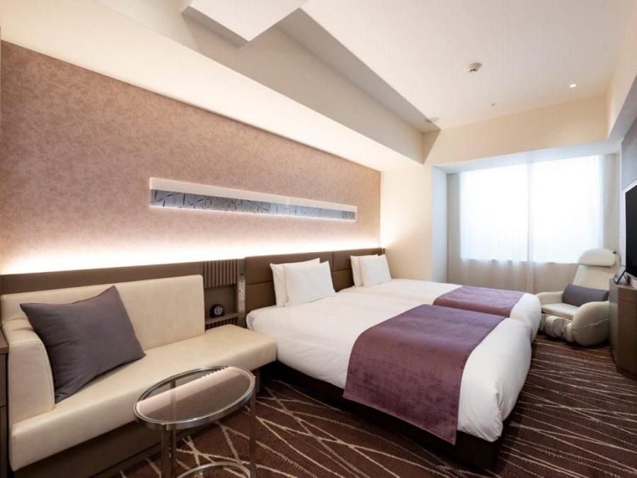銀座雷姆 Plus 酒店 雙床房