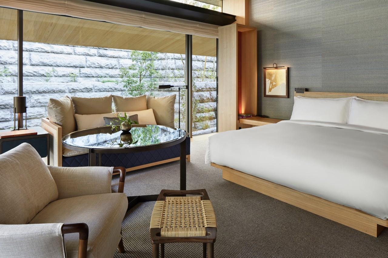 京都柏悅酒店 雙人房