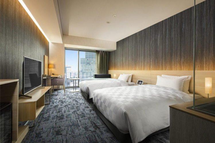 皇家經典大阪酒店 雙床房