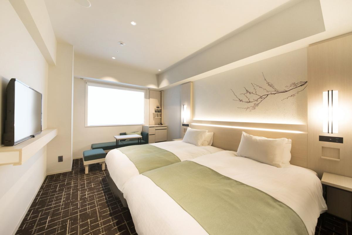 八重翠東京酒店 雙床房