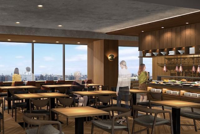 東京御徒町曼迪設計酒店 餐廳