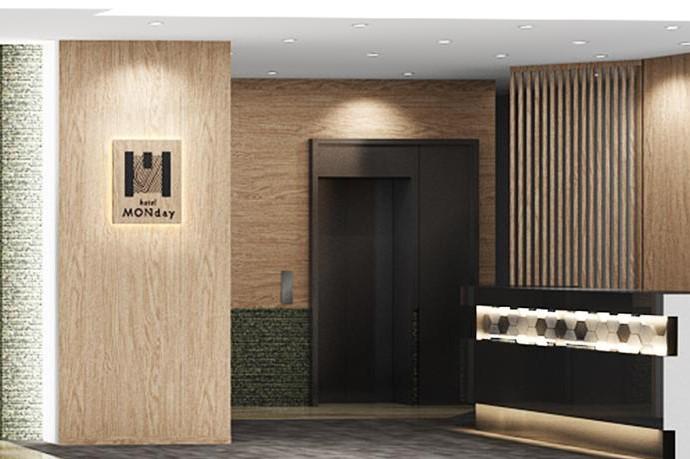 東京淺草曼迪設計酒店 大堂