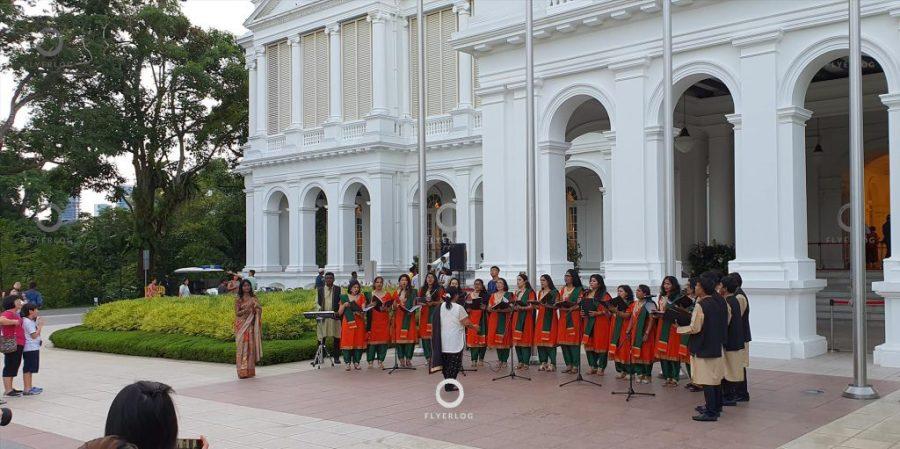 新加坡總統府 (The Istana) - 表演節目