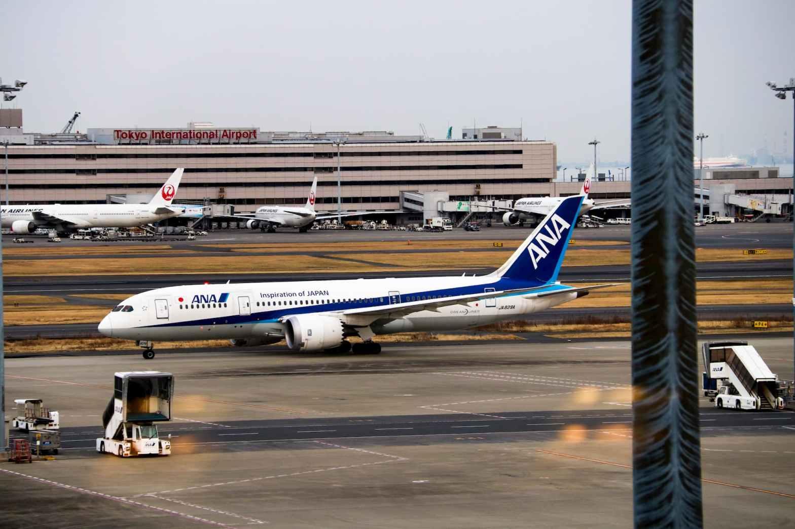 日本東京羽田機場
