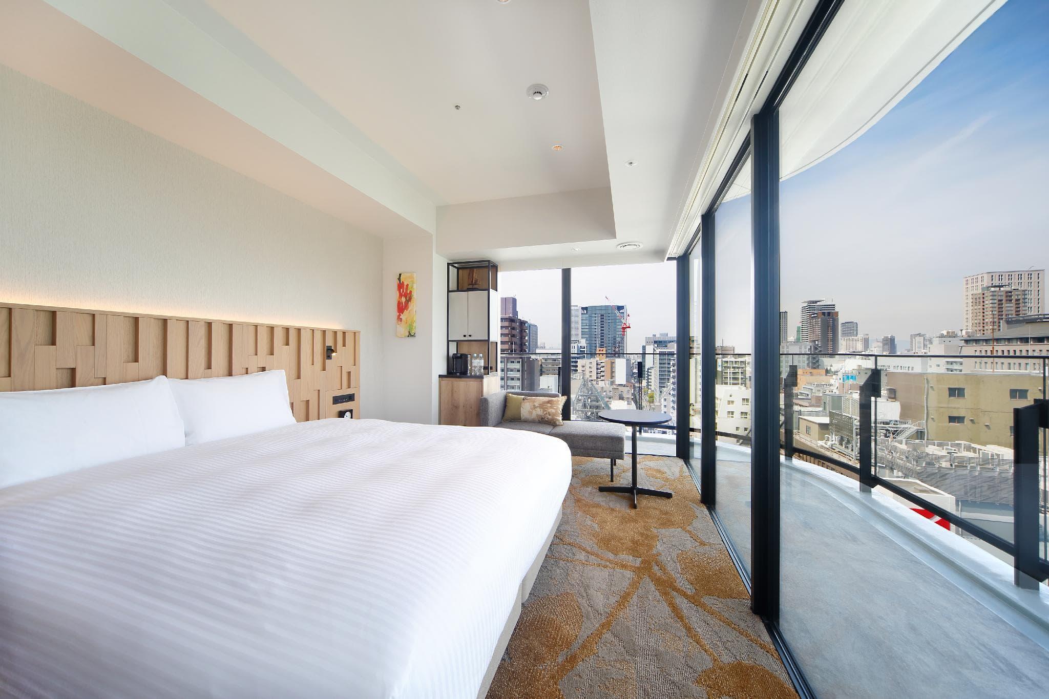 大阪本町都城市酒店 豪華轉角雙人房