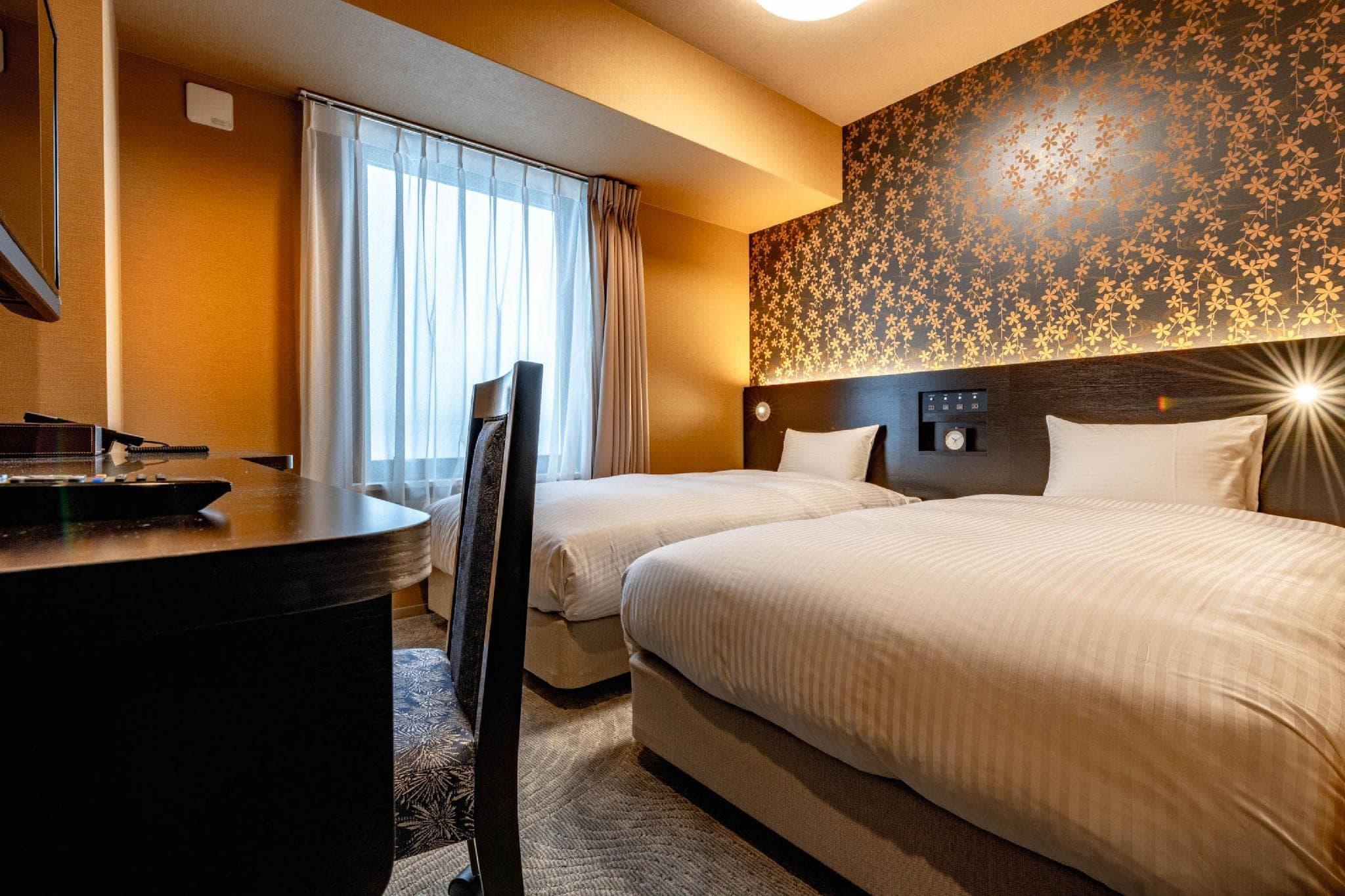 新大阪晴空塔WBF酒店 雙床房