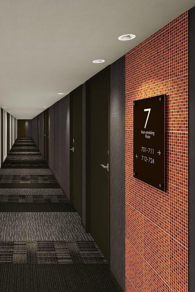 福岡天神最佳西方 Fino 酒店 走廊