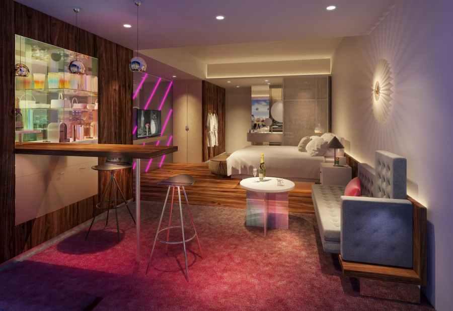 大阪 W 酒店 - 客房