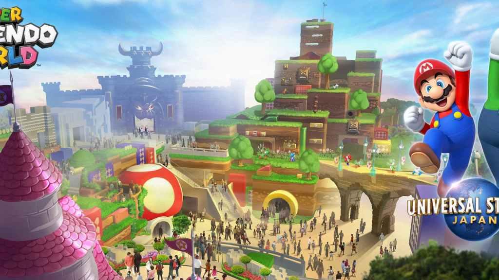 日本環球影城-超級任天堂世界