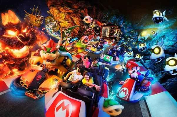 日本環球影城-Mario Kart: Koopa's Challenge