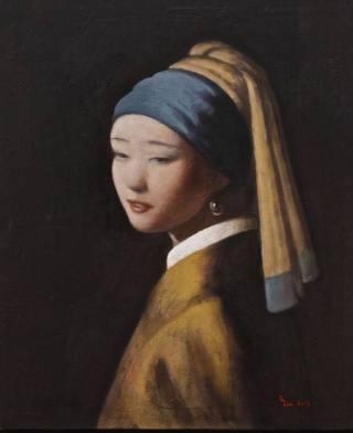 "Interpretation of Johannes Vermeer's ""Girl With a Pearl Earring"" (1665)"