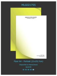 Retrouvez ce modèle de flyer sur notre site d'imprimerie en ligne directement. N'oubliez pas de  nous demander un devis d'impression en ligne.