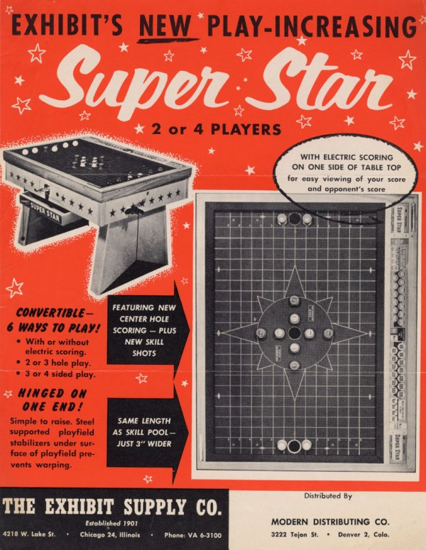 Arcade Flyer Archive - Game Flyers Super Star