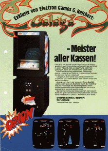 The Arcade Flyer Archive  Video Game Flyers Galaga
