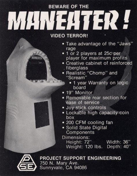Maneater cabinet