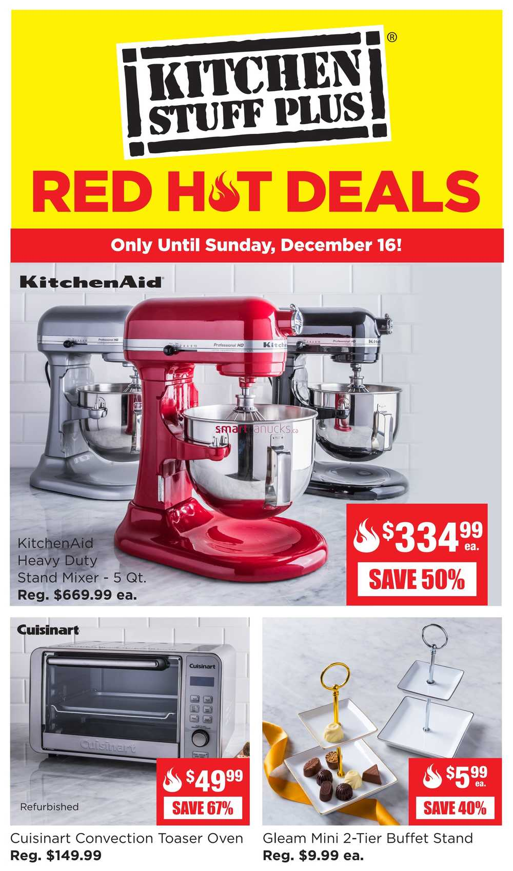 kitchen deals wood tables stuff plus canada flyers red hot flyer december 10 to 16