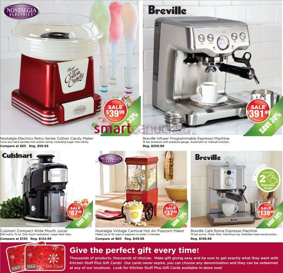 Kitchen Stuff Plus flyer November 28 to December 8