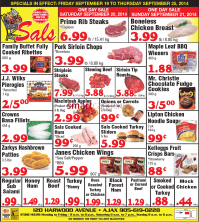 Sal's Grocery Canada Flyers
