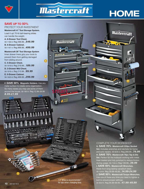 Canadian Tire Catalogue Tools