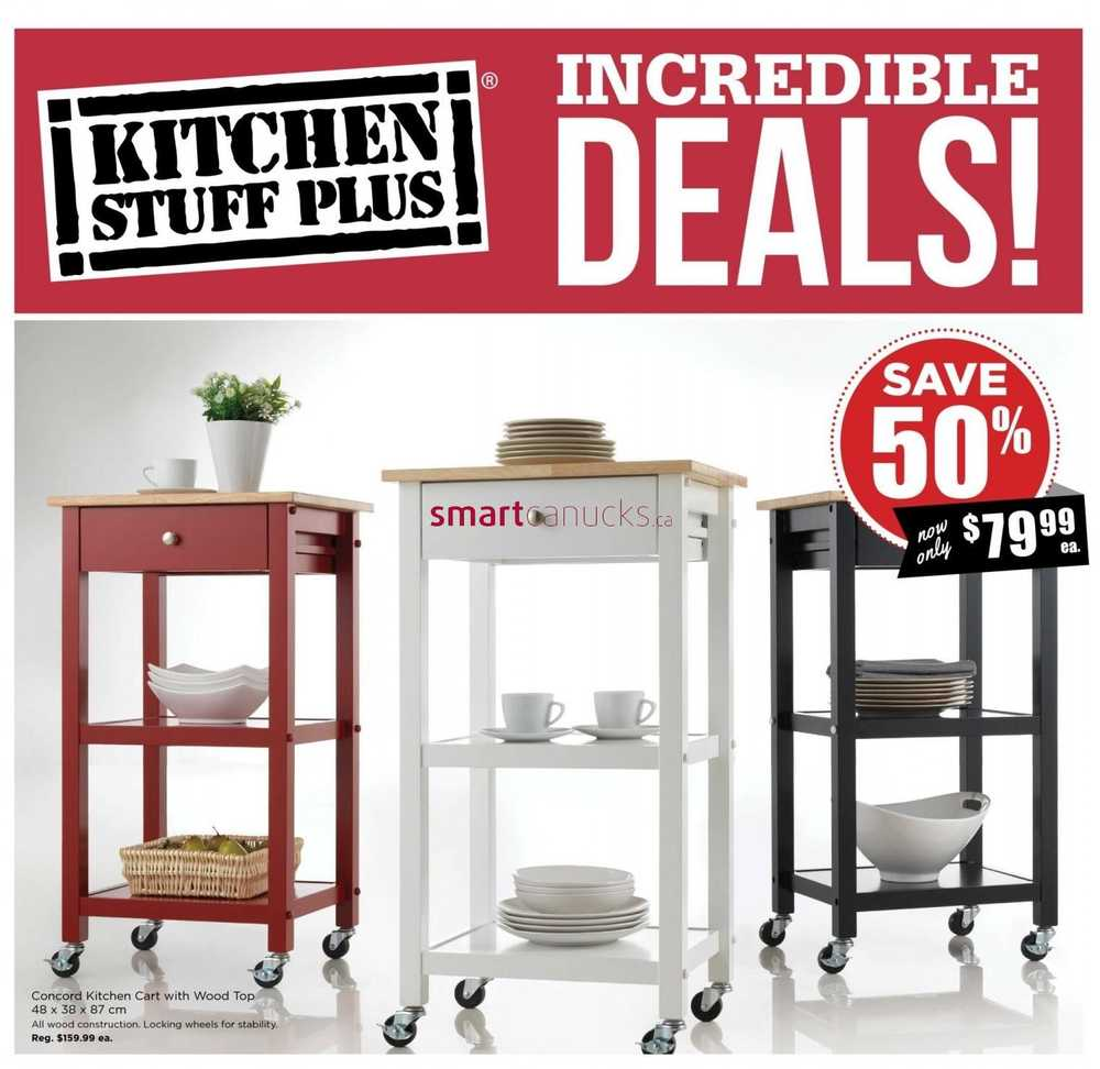Kitchen Stuff Plus Flyer September 10 to 20