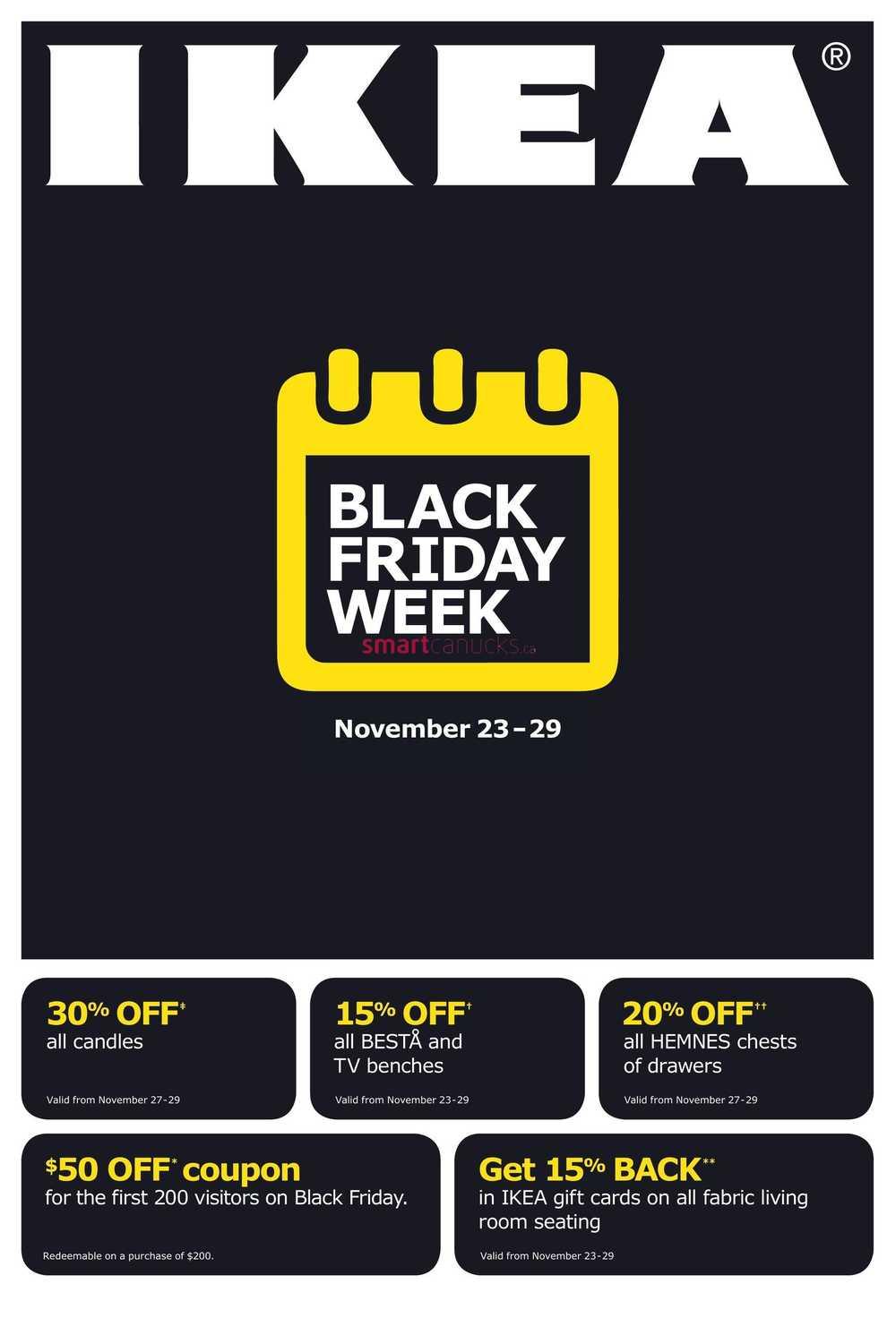 Ikea Black Friday Online Discount