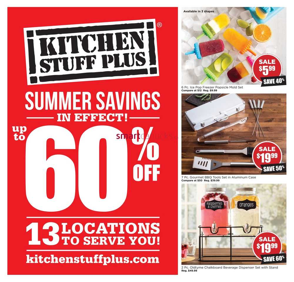 Kitchen Stuff Plus Flyer June 9 to 19