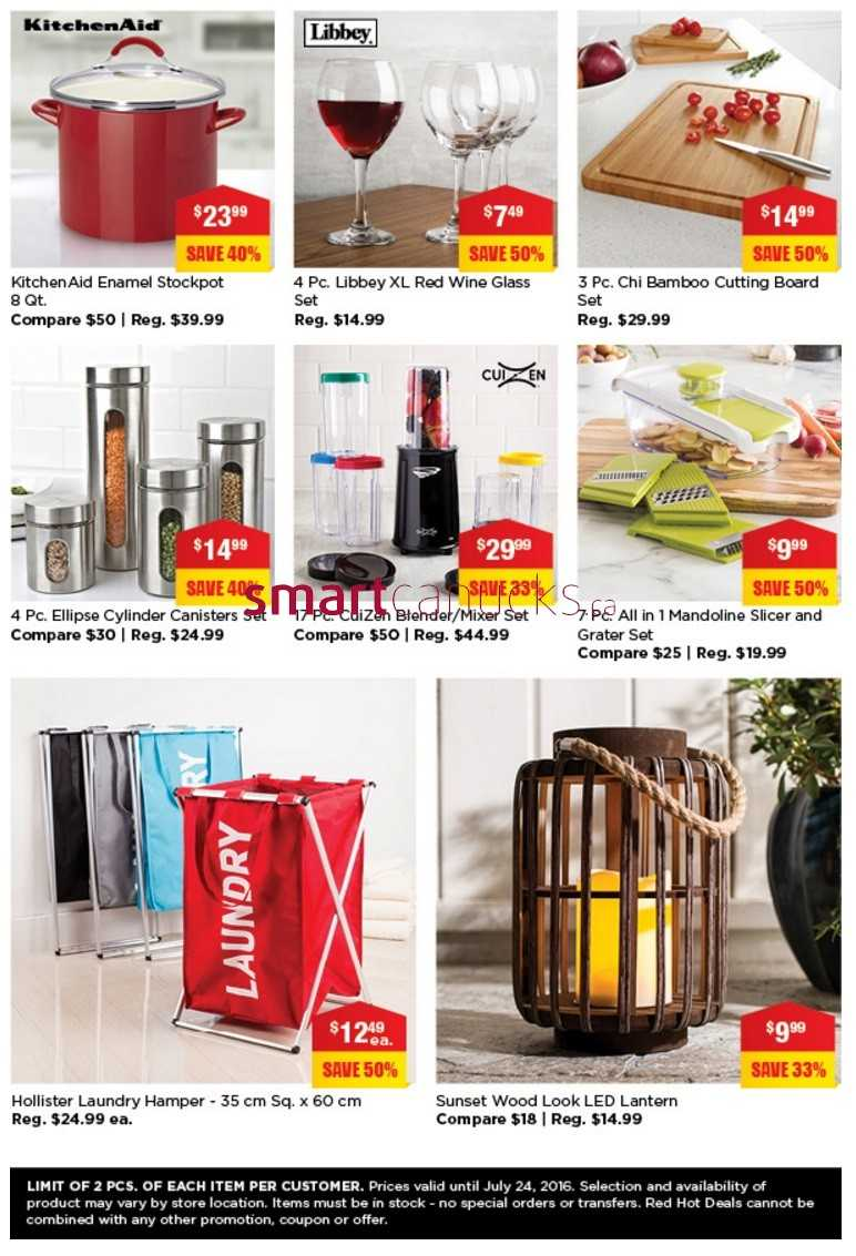 Kitchen Stuff Plus Red Hot Deals July 18 to 24