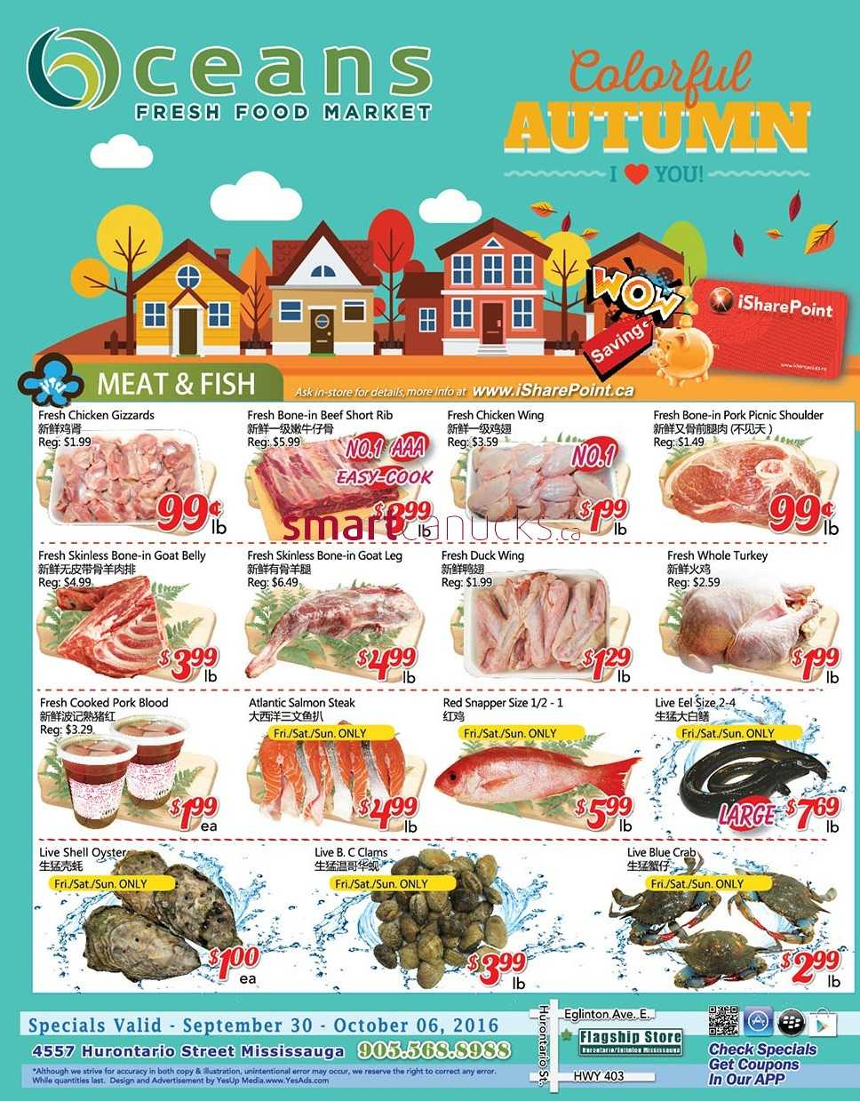 Fresh Food Market 6 October