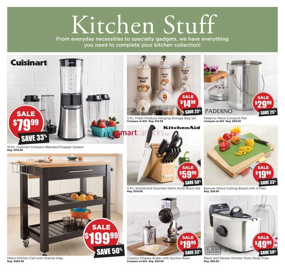 Kitchen Stuff Plus Flyer October 13 to 30