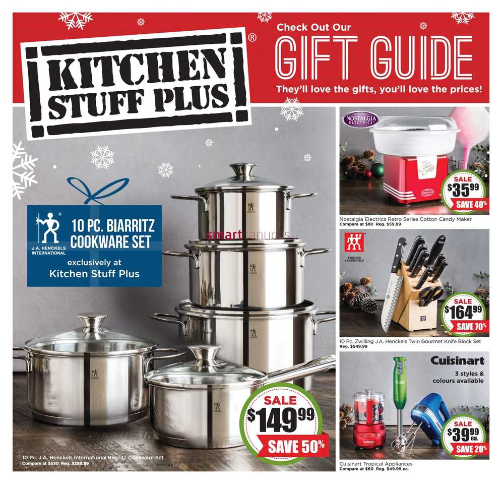 Kitchen Stuff Plus Canada Flyers