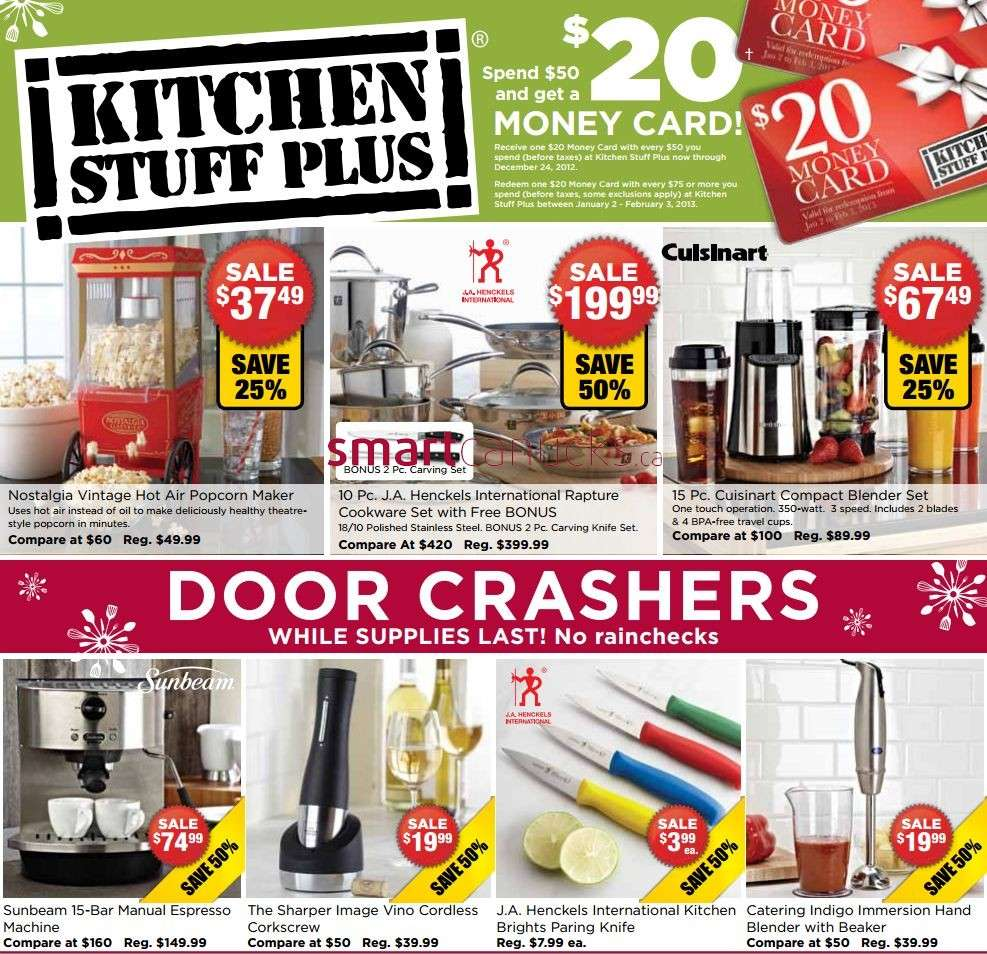 Kitchen Stuff Plus flyer Dec 12 to 24
