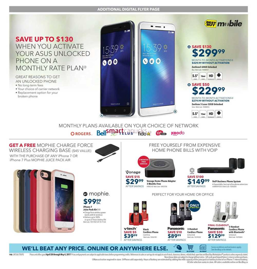 Best Buy Flyer April 28 To May 4