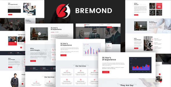 Bremond – Multipurpose Alternate Consulting WordPress Theme – WP Theme Download