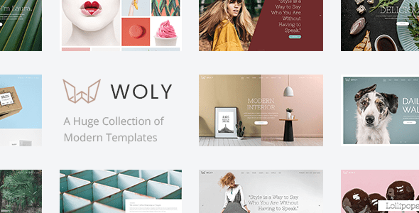 Woly – Multipurpose WordPress Theme – WP Theme Download