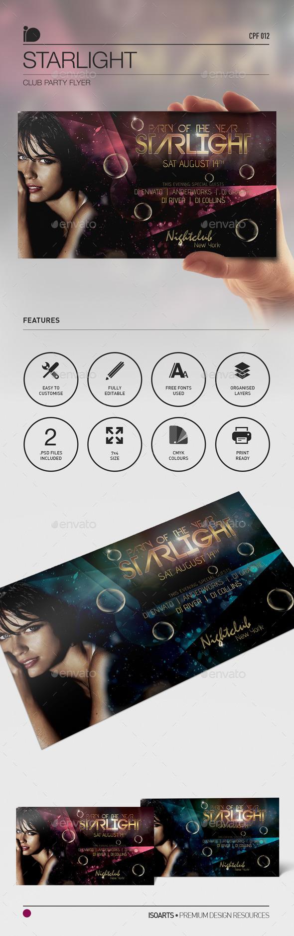 Club Celebration Flyer • Starlight – Download