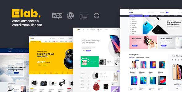 eLab – WooCommerce WordPress Store Theme – WP Theme Download