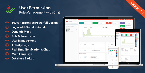 User Administration Permission & Role – with Chat – PHP Script Download