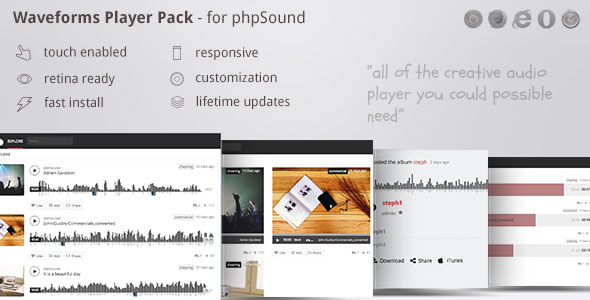 phpSound – gamers pack theme – including wave participant zoomsounds – PHP Script Download