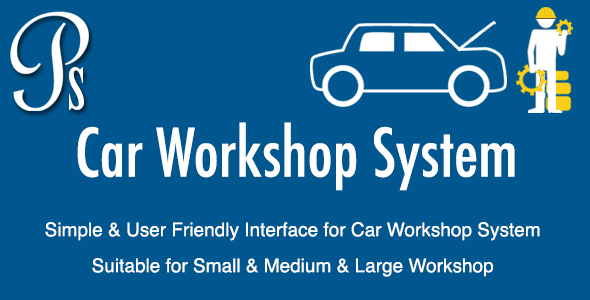 Automobile Workshop System – PHP Script Download