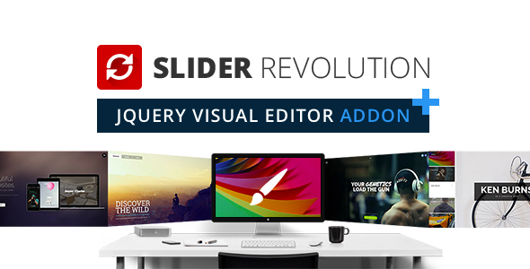 Slider Revolution jQuery Visual Editor Addon – PHP Script Download