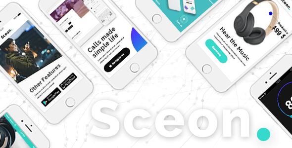 Sceon – App Touchdown Web page & Startup Theme – WP Theme Download