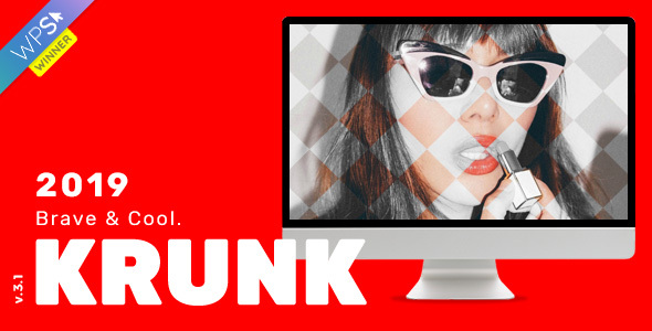 Krunk – Courageous & Frosty WordPress Weblog Theme – WP Theme Download