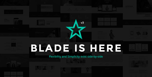 Blade – Responsive Multi-Purposeful WordPress Theme – WP Theme Download