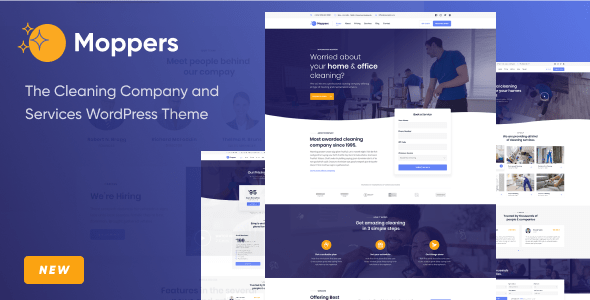 Moppers – Cleansing Company and Services and products WordPress Theme – WP Theme Download
