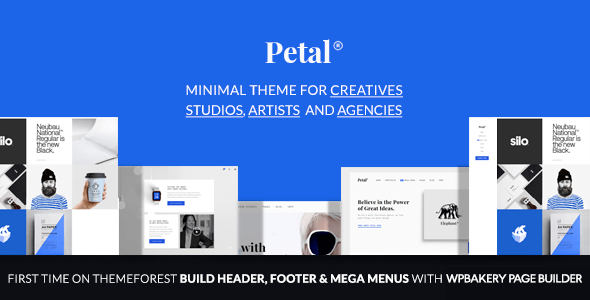 Petal – Creative Portfolio for Freelancer and Company – WP Theme Download