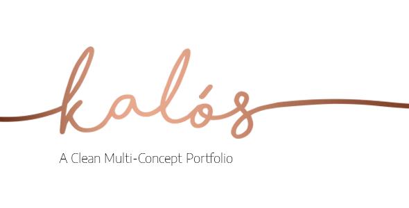 Kalόs – Portfolio WordPress Theme – WP Theme Download